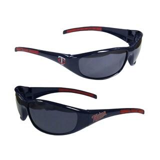 MLB Minnesota Twins Wrap 3 Dot Sunglasses