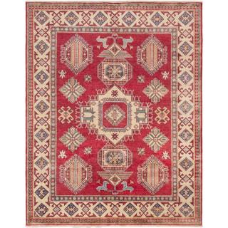 ecarpetgallery Finest Gazni Red Wool Rug (7' x 9')