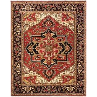ecarpetgallery Serapi Heritage Wool Rug (7' x 9')