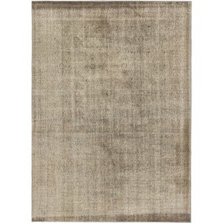 ecarpetgallery Anatolian Overdyed Grey Wool Rug (7' x 9')