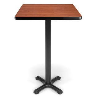 24-inch Square X Style Base Cafe Table