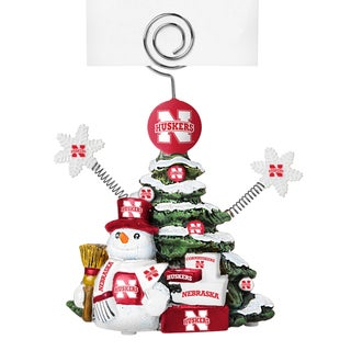 Nebraska Cornhuskers Cast Porcelain Tree Photo Holder