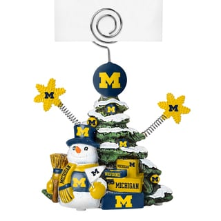 Michigan Wolverines Cast Porcelain Tree Photo Holder