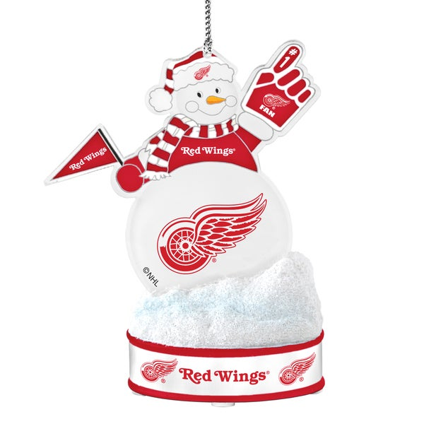 Detroit Red Wings LED Snowman Ornament 16499505