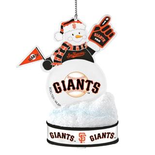 San Francisco Giants LED Snowman Ornament