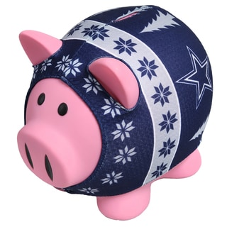 Forever Collectibles NFL Dallas Cowboys Ugly Sweater Piggy Bank