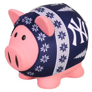 Forever Collectibles MLB New York Yankees Ugly Sweater Piggy Bank