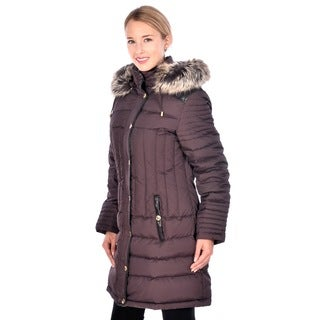 Nuage Women's 'Melbourne' Black Down Coat