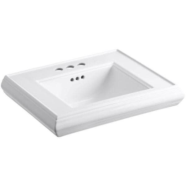 18 Inch Pedestal Sink : Kohler Memoirs 24 inch Pedestal Sink Basin - 17756115 - Overstock.com ...
