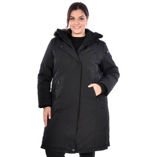 Nuage Women's Plus Size 'Arctic Expedition' Down Coat