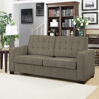 Portfolio Adaira Grey Taupe Chenille SoFast Sofa