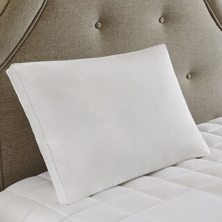 True North by Sleep Philosophy 3M Scotchgard Treatment Medium White Feather and Down Compartment Pillow