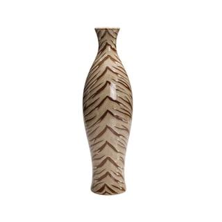 Bombay Tiger Print Ceramic Vase