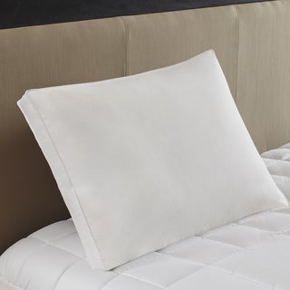 True North by Sleep Philosophy 3M Scotchgard Firm White Feather and Down Compartment Pillow