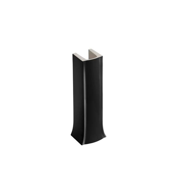 Kohler Archer Pedestal in Black Black