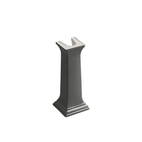 Kohler Memoirs Pedestal in Thunder Grey