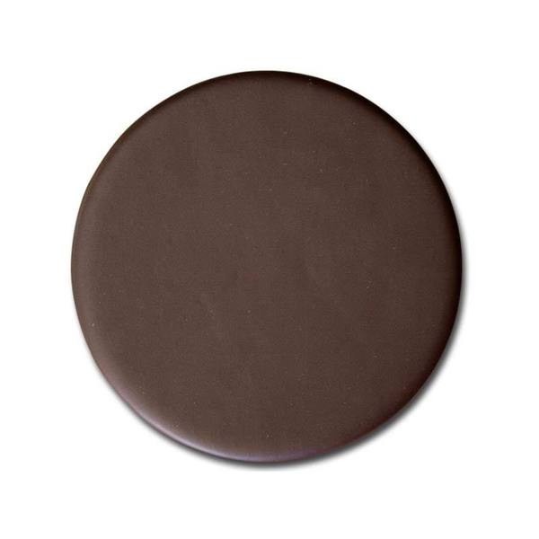 Chocolate Brown Leatherette Coaster