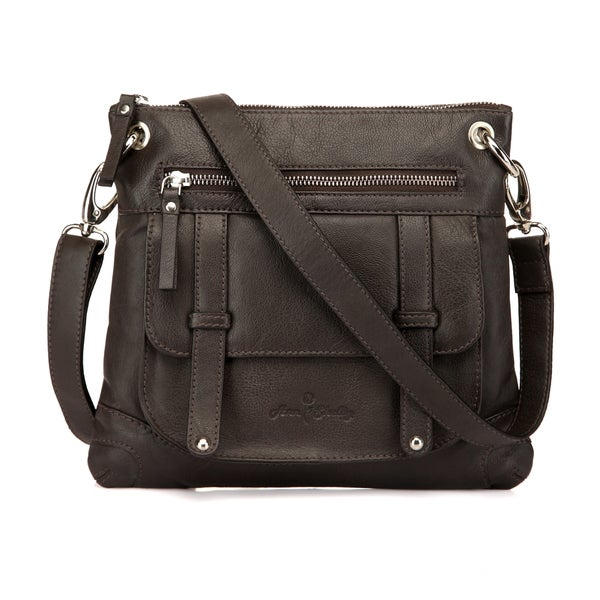 Felice Leather Crossbody Bag