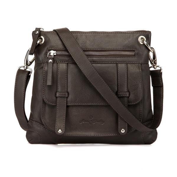 Felice Leather Crossbody Bag