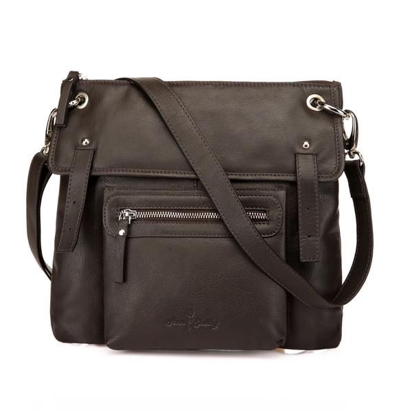 Emmy Leather Crossbody Bag