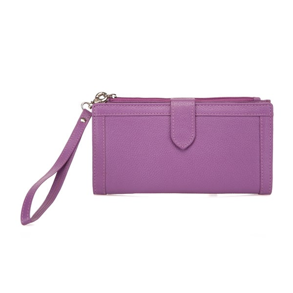 Evonne Ladies Leather Wallet/Wristlet