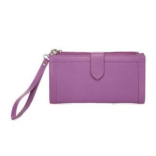 Evonne Ladies Leather Wallet/Wristlet