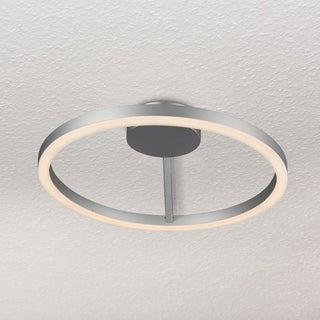 VONN Lighting Zuben 20-inch LED Satin Nickel Ceiling Fixture in