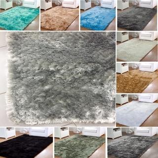 Affinity Home Silken Luxurious Shag Rug (8' x 10')