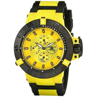 Invicta INV0787 Men's 17116 Subaqua Analog Display Japanese Quartz Yellow/ Black Watch