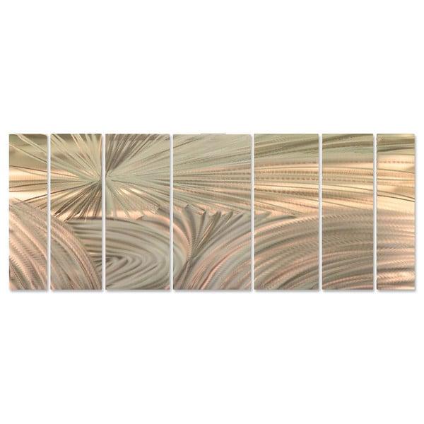 Ash Carl 'Tectonics' Metal Wall Art