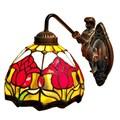 Amora Lighting Tiffany Style Tulips Wall Sconce Lamp