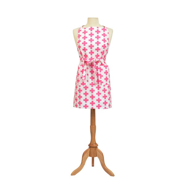 Add Pink Butcher Apron
