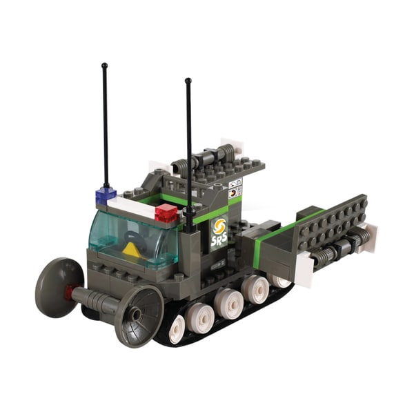 Interlocking Brick Danger Detecting Vehicle