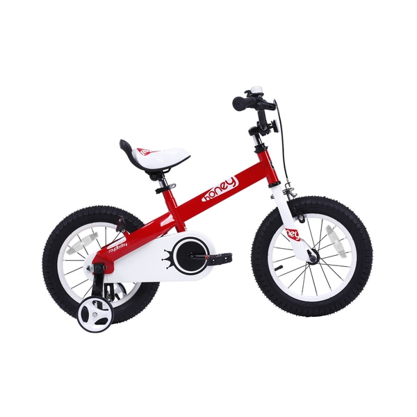 Royalbaby Honey 14 inch Kids Bike, Girls Bike, Boys Bike, Red or Lilac