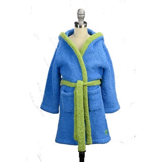 Kashwere Youth Hydrangea/ Aloe Cover-Up Hooded Robe