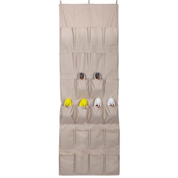 StorageManiac Heavy Duty Over-the-door Shoe Bag With 3 Top Hooks