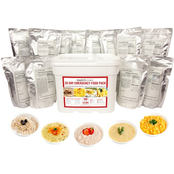30 Day Emergency Food Pack