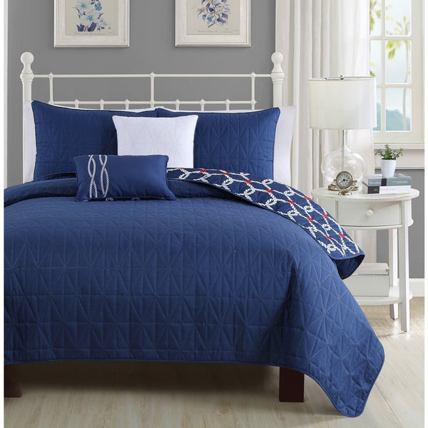 Avondale Manor Nantucket 5-piece Quilt Set
