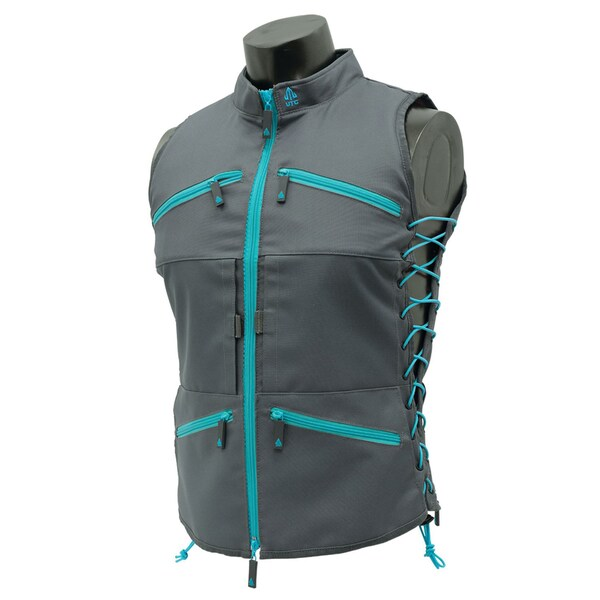 Leapers Inc. True Huntress Female Vest, Gray/Blue 16502794