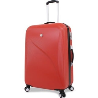 Wenger Red 28-inch Hardside Spinner Upright Suitcase