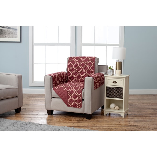 Adalyn Printed Reversible Arm Chair Furniture Protector
