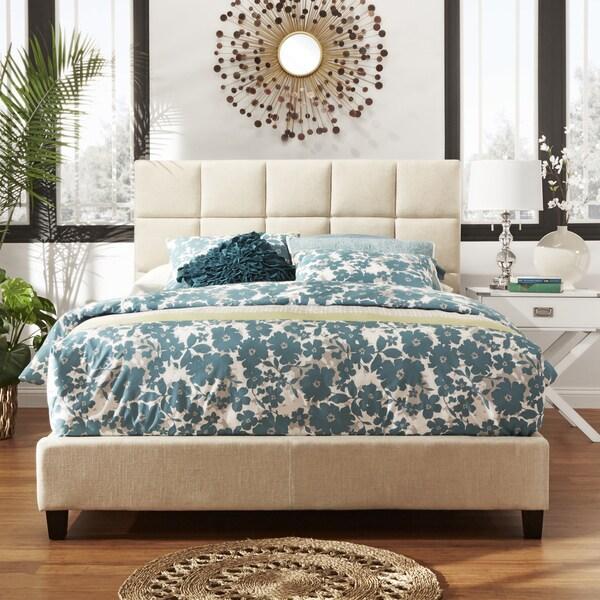 INSPIRE Q Fenton Panel Queen-Size Upholstered Bed