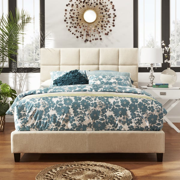 INSPIRE Q Fenton Panel King-Size Upholstered Bed