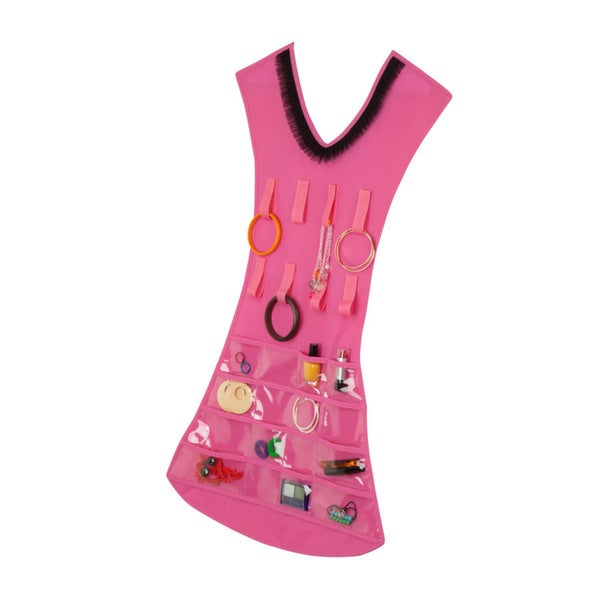 Pink Dress Jewelry Organizer