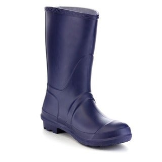 Beston FEW36 Women's Tall Mid Calf House Check Rain Boots