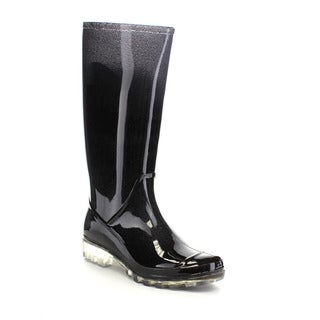 Beston FEW37 Women's Tall Mid Calf Garden Rain Boots