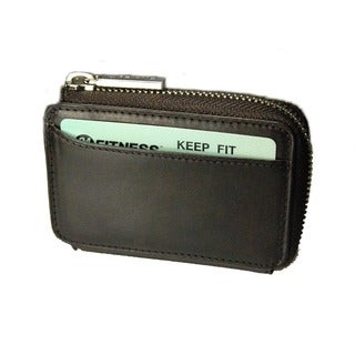 Castello Italian Oily Pull-Up Leather RFID Cardholder