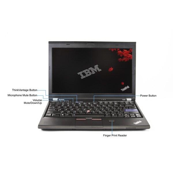 Lenovo ThinkPad X220 12.5-inch 2.5GHz Intel Core i5 4GB RAM 128GB SSD Windows 8 Laptop (Refurbished)