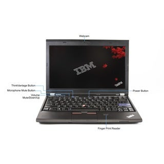Lenovo ThinkPad X220 12.5-inch 2.3GHz Intel Core i5 6GB RAM 500GB HDD Windows 7 Laptop (Refurbished)