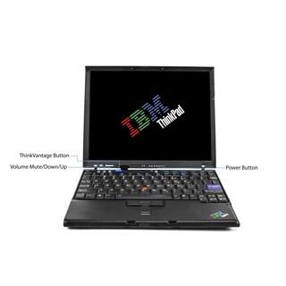 Lenovo ThinkPad X60 12.1-inch 1.8GHz Intel Core Duo 3GB RAM 320GB HDD Windows 7 Laptop (Refurbished)